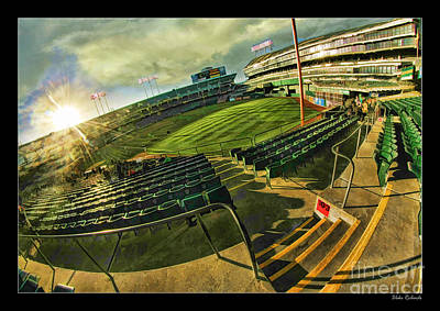 Photograph - Inside Oakland Coliseum by Blake Richards