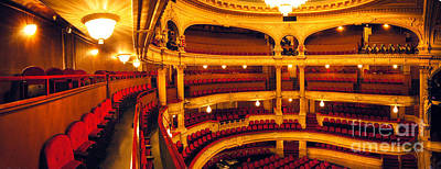 Art Print featuring the photograph Inside Of Old Theatre by Michael Edwards