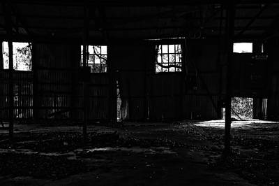 Inside Old Warehouse Art Print