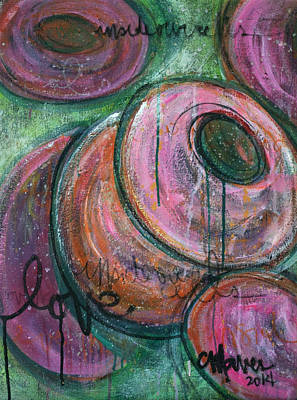 Painting - Inside Our Cells by Laurie Maves ART