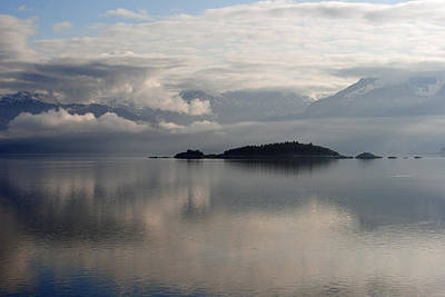 Photograph - Inside Passage Reflections by Robert  Moss