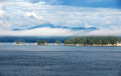 Photograph - Inside Passage by John Schneider