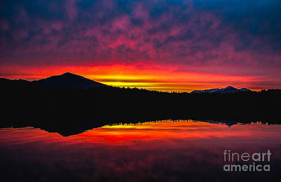 Photograph - Inside Passage Sunrise by Robert Bales