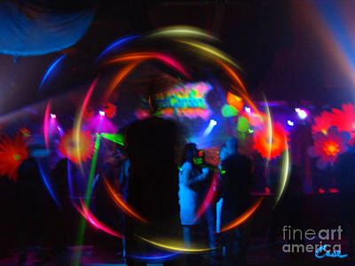 Photograph - Inside Rave Orb by Feile Case