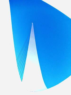 Photograph - Inside Sun Dial Bridge by Ron Roberts