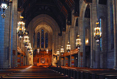 Photograph - Inside The Cathedral by Lynn Bauer