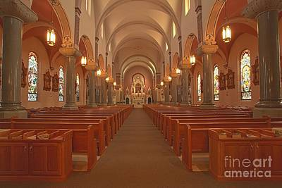 Photograph - Inside The Cathedral Of The Plains by Adam Jewell