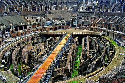 Photograph - Inside The Colosseum I I by Caroline Stella