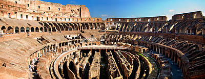 Photograph - Inside The Colosseum by Weston Westmoreland