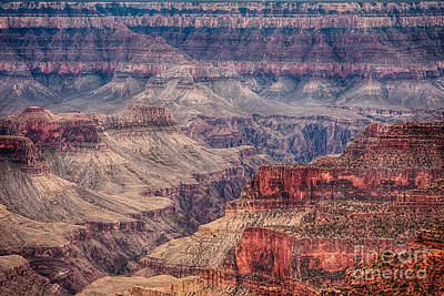 Natural Photograph - Inside The Grand Canyon  by James BO  Insogna