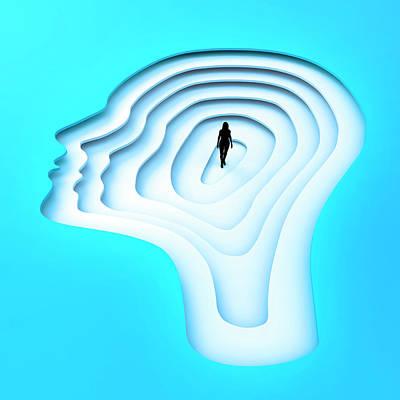 Inside The Human Mind Art Print