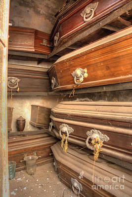 Photograph - Inside The Mausoleum by Deborah Smolinske