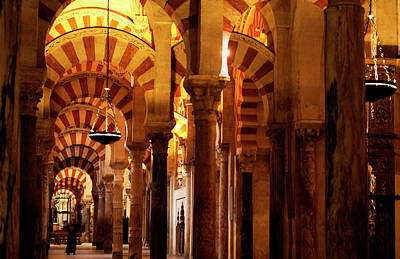 Photograph - Inside The Mezquita by Lorraine Devon Wilke