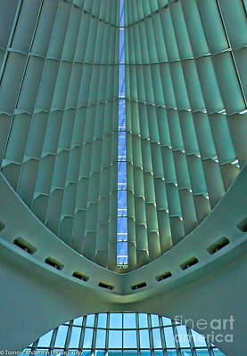 Studio Grafika Zodiac - Inside the Milwaukee Museum of Art by Tommy Anderson