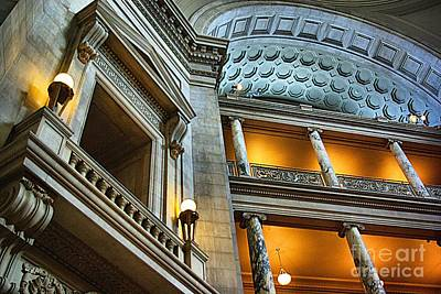 Inside The Natural History Museum  Art Print by John S