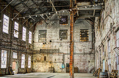 Inside The Old Sugar Mill Print by Diego Re