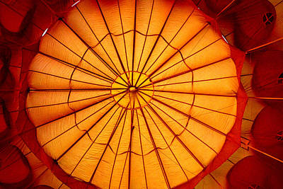Photograph - Inside The Red Baloon by Nadalyn Larsen