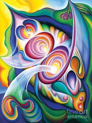 Painting - Inside The Revelry Divine by Tiffany Davis-Rustam