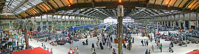 Interior Scene Photograph - Inside Train Station, Nice, France by Panoramic Images