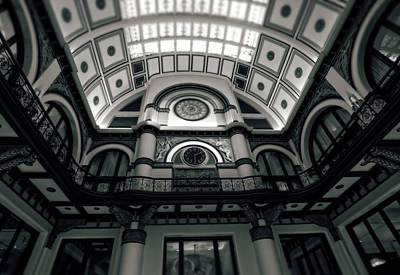 Nashville Tennessee Photograph - Inside Union Station by Dan Sproul