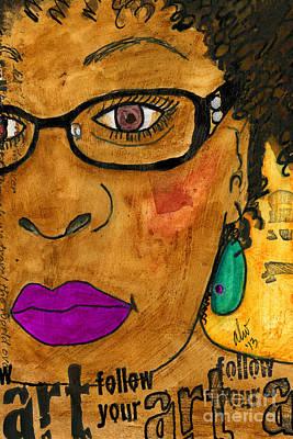 Painting - Insightful by Angela L Walker