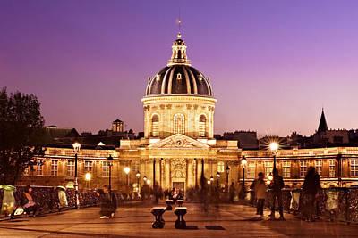 Photograph - Insitut De France / Paris by Barry O Carroll