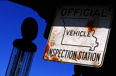 Inspection Station Art Print