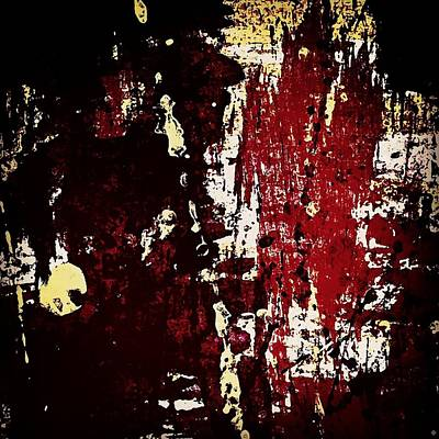 Colour Wall Art - Photograph - Abstract In Burgundy by Jason Michael Roust