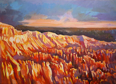Inspiration Point - Bryce Canyon Art Print by Filip Mihail