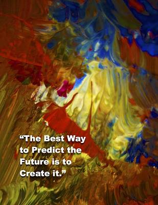 Painting - Inspirational  Saying by Joan Reese