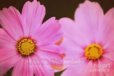 Inspirational Flower 2 Art Print