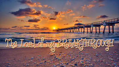 Digital Art - Inspirational Sunrise by Kelly Turner