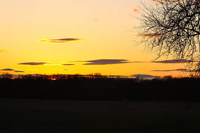Photograph - Inspirational Sunset  by Ann Murphy