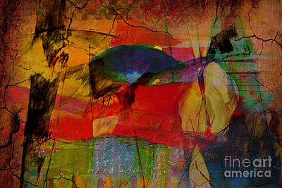 Texture Art Mixed Media - Inspire by Marvin Blaine
