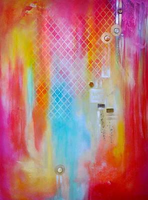 Depth Mixed Media - Inspired by Debi Starr