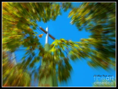 Photograph - Inspiring Spire by Deb Badt-Covell
