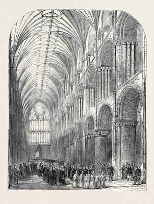 Installation Of The Bishop Of Norwich Art Print