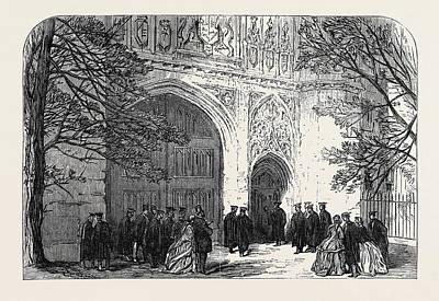 Installation Of The New Master Of Trinity College Cambridge Art Print