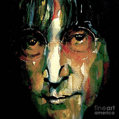 Lennon Painting - Instant Karma by Paul Lovering