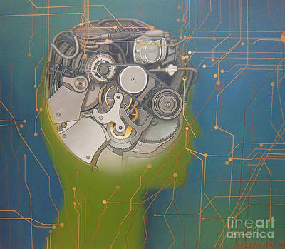 Processor Painting - Instinct by Ahmad Subandiyo
