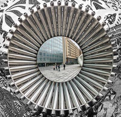 Institut Du Monde Arabe - Paris Art Print by Luciano Mortula