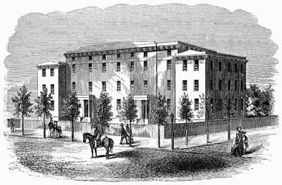 Art Print featuring the painting Institute For Blind, C1850 by Granger