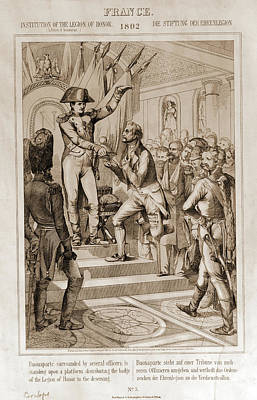 Institution Of The Legion Of Honor - France Print by Litz Collection