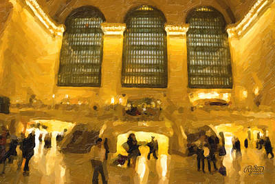Wall Art - Digital Art - Int. Grand Central Terminal by Ryan Cosgrove