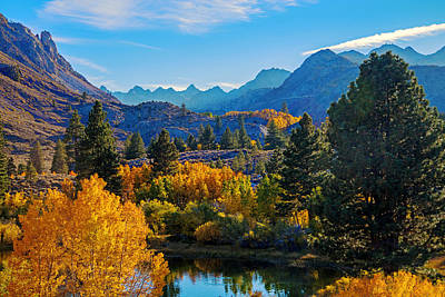 Bishops Peak Photograph - Intake Lake View by Lynn Bauer