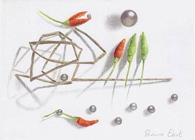 Drawing - Integration by Sharon Ebert
