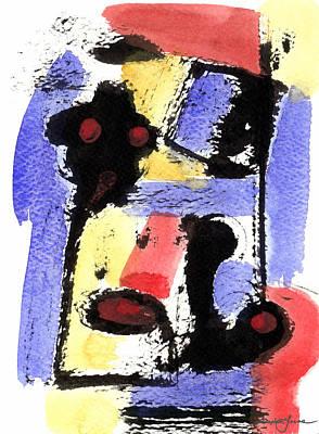 Intense And Purpose 2 Art Print