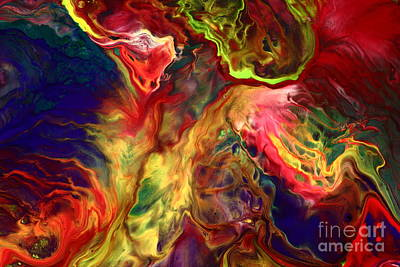 Intense Emotions Contemporary Abstract Art Print