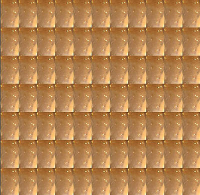 Photograph - Intense Gold Sparkle Jewel Pattern Unique Graphic by Navin Joshi