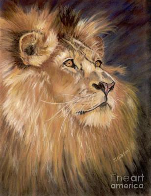 Intense Pride Art Print by Jan Gibson